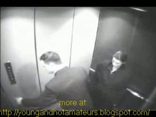 Chick Sucks Her Boss At Elevator For A Pay Raise