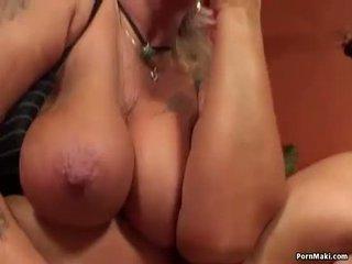 Babcia having anal seks z pieprzenie maszyna