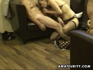 groupsex, blowjob, shaved