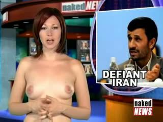 Naked news readers victoria and kat omit the underwear