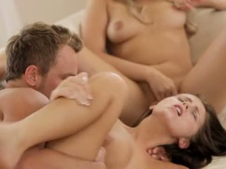 Mia Malkova takes on cock and pussy
