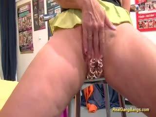 mainan, group sex, big boobs