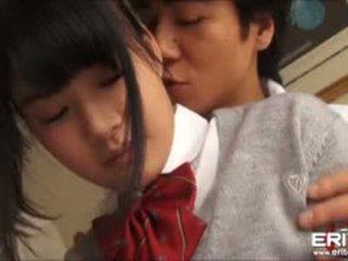 Supercute 日本語 女學生 itsuka 性交 和 creampied
