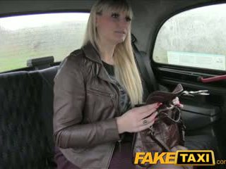 FakeTaxi Milf takes it from behind