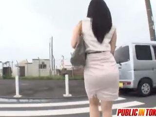 japán, kemény, busz