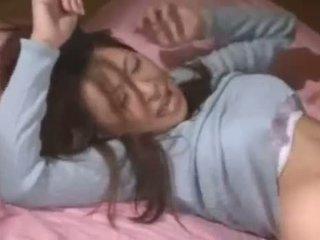 Asijské dospívající těžký souložit