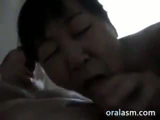 blowjob, mature, pov, chinese