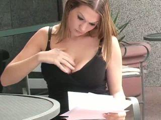 অধিক বড় tits গুণমান, সবচেয়ে নিষ্পাপ, বাস্তব বহিরঙ্গন