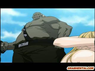 monsters, hentai, anime, groupfucked