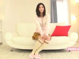 Adorable asiatique fille pétée