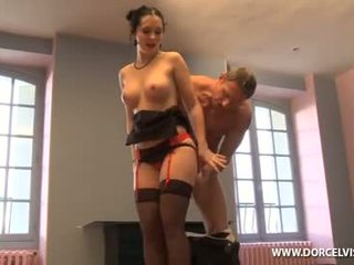 see brunette, check oral sex quality, check deepthroat see