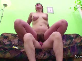 Young Boy Seduce MILF Step-mom to get First Fuck: Porn b1