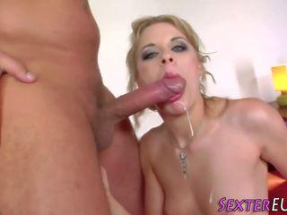 Fingered Slut gets Facial, Free Sexter Media Channel HD Porn
