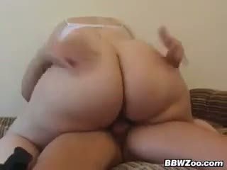 Big Blonde Woman Getting Fucked Hard