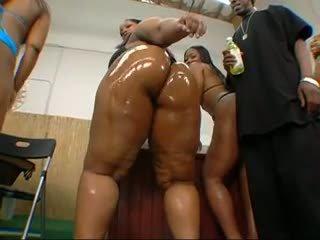 Big Butt Black Wet Orgy