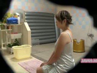 japonijos, voyeur, masažas, paslėptos kameros