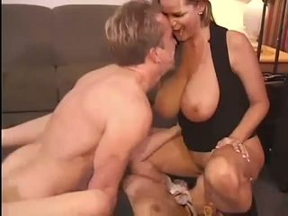 Hot Kelly Madison and Michelle B gets their sweet pussies hammered hard