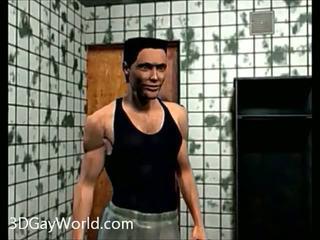 Душ ебать 3d гей мультиплікація хентай анімація