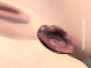 brunette, japanese, vaginal masturbation