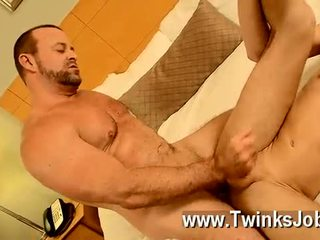 Hot Blonde Hetero Jackson Jerking His Tube 2