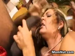 Thick Mom Wants Big Black Cock In A 3some