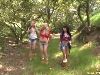 Georgia jones a ji 2 krásný girlfriends souložit