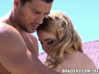 Brazzers - Petite babe Alina West loves anal