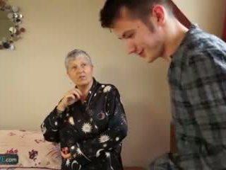 old, gilf, older, grandma