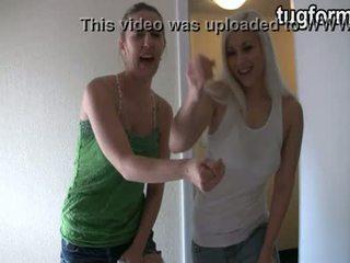 Sister і блондин busting ви jacking від jo instructions