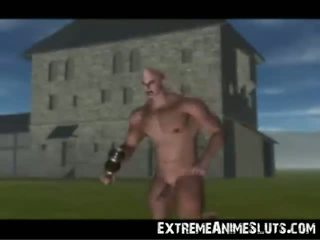 3D Sex in Medieval Times!