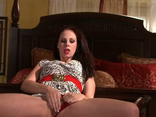 Busty Gianna Michaels is Sucking a Thick Black Cock.