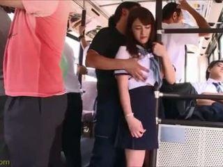 Http://life2sex.com - japonská pohlaví na autobus