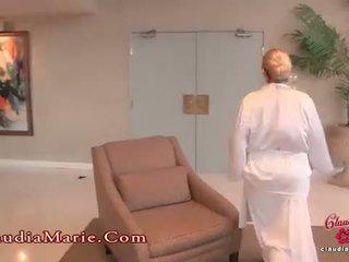 विशाल fake चूची claudia marie meets the एनल guru