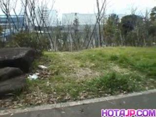 Miyuki hashida sucks boner em streets