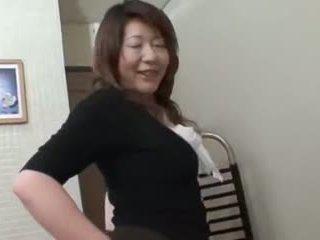 日本の, bbw, 大人のおもちゃ, 熟女