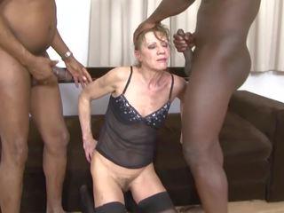 grannies, threesomes, interracial, hd porn