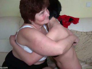 sesso di gruppo, invecchiato, nonna
