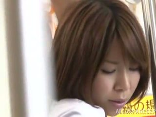 Miku Hasegawa Has Got Laid From Backside In A Public Bus