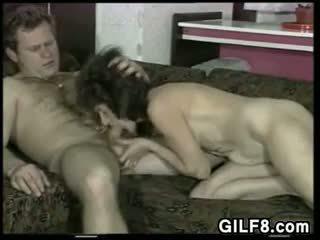 Hairy And Horny Granny Licked And Fucked