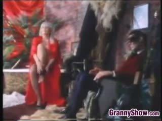 big boobs, granny, vintage, old+young