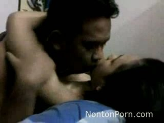Indonesian Teen With Her BF