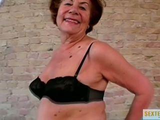 babcie, stary + młoda, interracial, hd porno