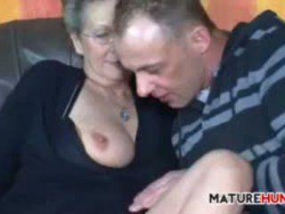 Naughty Granny With Saggy Tits Wants To Fuck