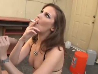 Smoking - Hailey Young - Balls Deep Diablos