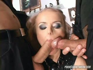 Dora Venter Gets Dressed Up In A Latex Dress Gagged And Eventually Dp D And Facialized