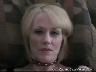 Playing with Her Grandsons Cum, Free Wicked Sexy Melanie Porn Video