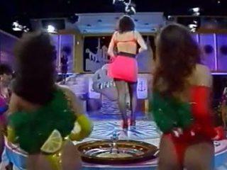 Italian televizor spectacol - tutti frutti - kandidatin sabine