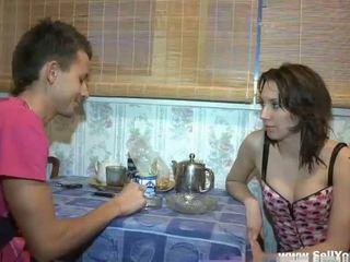 Guy bangs her as hard as nobody