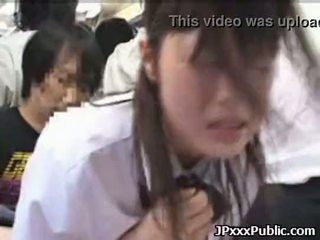 Sexy japanese teens fuck in public places 30