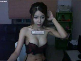 webcam, luiseva, korealainen, aasialainen
